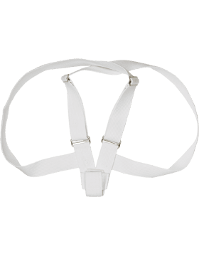 White Web Flagset Carrier (DoubleStrap)