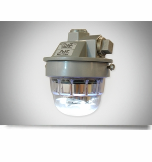 Dialight SafeSite Series LED White Visual Signal - Pendant Mount - RTODW08004