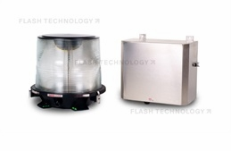 FTB 302 Medium Intensity L-865 Xenon AOL Strobe for High Intensity Applications Tower Lights and Obstruction Lighting System - SPX Corp