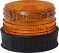 211R Series Strobe Light Very Low Profile-Rubber Base
