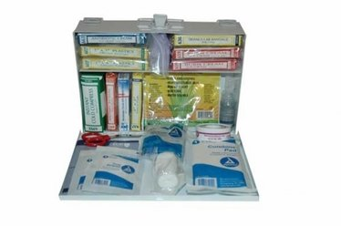 25 Person Metal First Aid Kit
