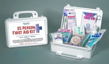 25 Person Plastic First Aid Kit