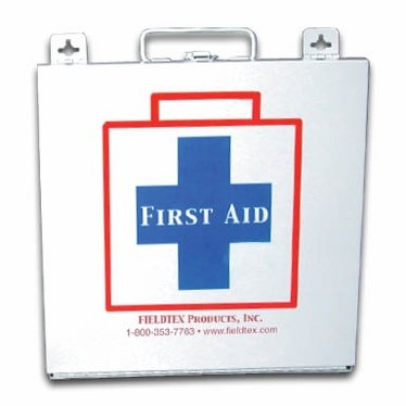 Metal-50 Person First Aid Kit