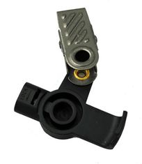Transducer Housing and Clip for TAPaulk Acoustic Tube Earpieces B-05