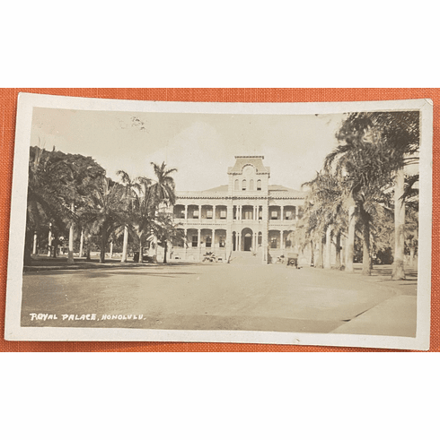 1920's photo of the Royal Palace #1