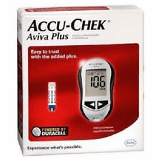 Accu-Chek AVIVA Plus Diabetes Meter Kit