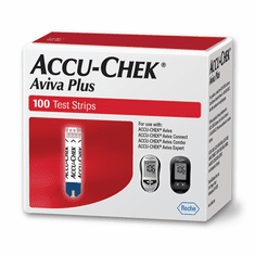 Accu-Chek Aviva Plus Test Strips Box of 100