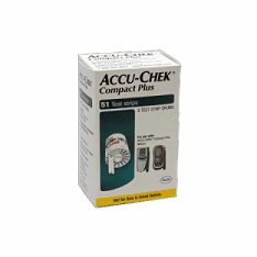 Accu-Chek Compact Blood Glucose Test Strips Box of 51 NR