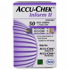 Accu-Chek Inform II Test Strips Box of 50