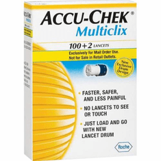 Accu-Chek Multiclix Lancets Box of 102 (Damaged/Open Box)