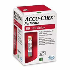 Accu-Chek Performa Blood Glucose Test Strips Box of 50