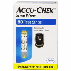 Accu-Chek Smartview Mail Order Test Strips Box of 50