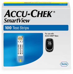 Accu-Chek Smartview Nano Test Strips Box of 100