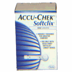 Accu-Chek SoftClix Glucose Lancets box of 200
