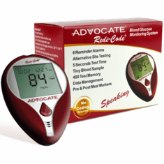 Advocate Redi-Code Plus Speaking Glucose Meter