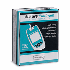 Assure Platinum Blood Glucose Meter
