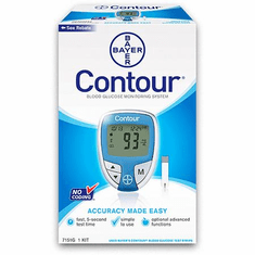 Bayer Contour Diabetic Monitoring Kit Combo + 50 Test Strip