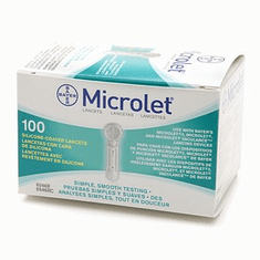Bayer Microlet Lancets Box of 100