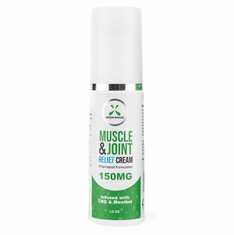 CBD Muscle and Joint Relief Cream 150MG