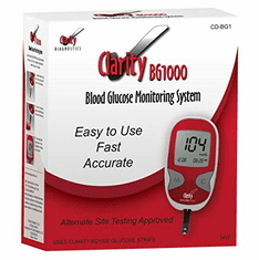 Clarity BG1000 Blood Glucose Monitoring System