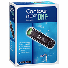 Contour Next ONE Blood Glucose Meter - 9763