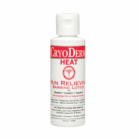 Cryo Derm Heat Pain Relieving Warming Lotion
