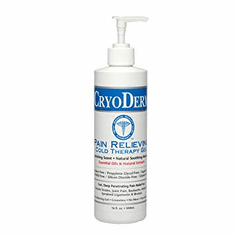 Cryoderm Cold Therapy Gel 16oz Pump