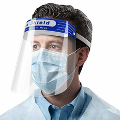 Face Shield Direct Splash Protection