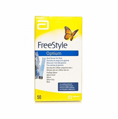 FreeStyle Optium Box of 50