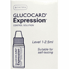 Glucocard Expression Control Solution Level 1 (2.5ml) 1 vial