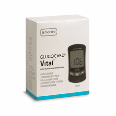 GlucoCard Vital Blood Diabetes Monitoring Kit