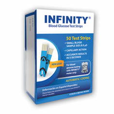 Infinity Blood Glucose Test Strips 50ct