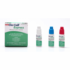 On Call Express G125-12D Glucose Control Solution Kit