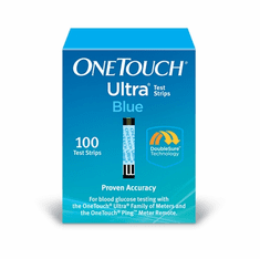 OneTouch Ultra Blood Glucose Test Strips 100ct (Packs of 5 or 10)