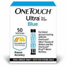 OneTouch Ultra Blood Glucose Test Strips MO Box of 50