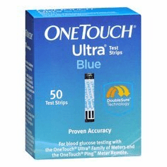 OneTouch Ultra Test Strips Box of 50 (Short Dated/Damaged Box/Vial)