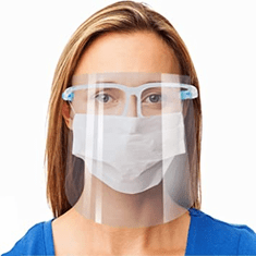 Safety Face Shield Goggle Visor eyeglass
