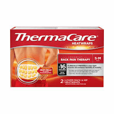 ThermaCare Heat Wraps, S-M, 3 Pack