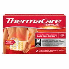 ThermaCare Lower Back Wrap Heat Size Large/X-Large 2/Bx