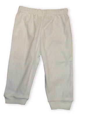Baby Jay Claire soft cotton white leggings. Very comfortable and are great to wear underpants or by themselves.
