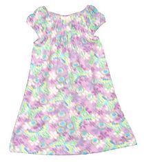 Crokids Butterfly Emporium butterfly print dress with angel wing sleeves. Very comfortable and great for the warm weather.