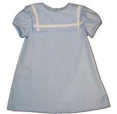 Funtasia Too Baby Blues blue sailor dress. Classic and matches the boys.