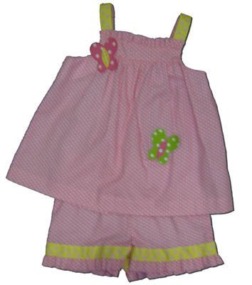 Funtasia Too Butterfly Beauty crop top set that is sweet and fun.