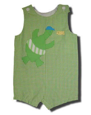 Funtasia Too Circle Around sea turtle shortall. A very popular style.