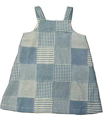 Funtasia Too Drop Your Anchor blue patchwork jumper. Great for all year round and matches the boys. Goes great by itself, with a sweater, or with a shirt underneath.
