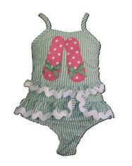 Funtasia Too Flip Flop Girl two piece swimsuit. So cute and great quality.