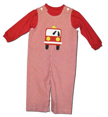 Funtasia Too Freddy the Fireman's Firetruck Longall. Turtleneck not included.