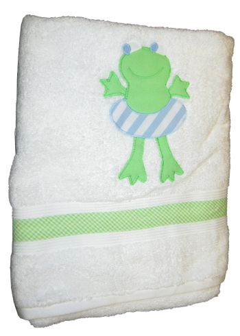 Funtasia Too Frederick the Frog Towel.