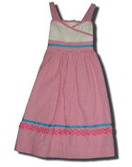 Funtasia Too Pink ribbons wrap dress that is comfortable and feminine.