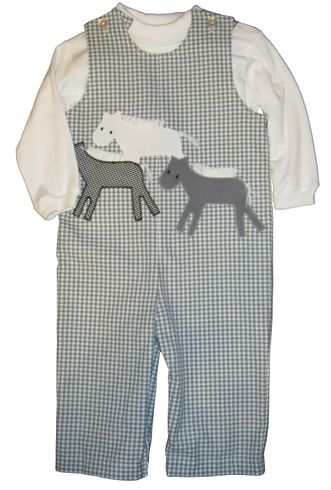 Funtasia Too HorsePlay longall with horses appliqued and NO white turtleneck.